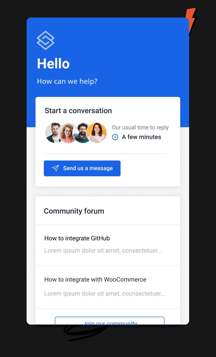 assistant community